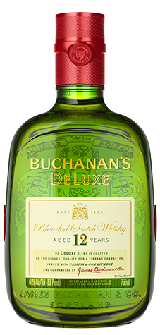Bottle of Buchanan's 12 Deluxe Whisky