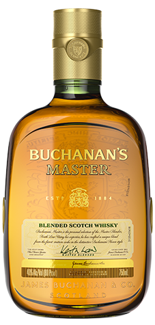 Bottle of Buchanan's 12 Master Whisky