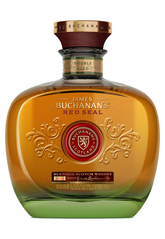 Bottle of Buchanan's 12 Red Seal Whisky